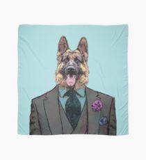 Alsatian Dog Three-piece suit Scarf