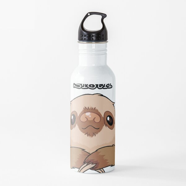 Sloth drawing Water Bottle