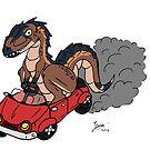 Car-charodontosaurus  by zuperbuuworks