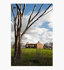 Australian Heritage Farmhouse Photographic Print