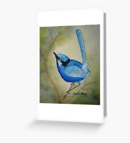 Blue Boy Greeting Card