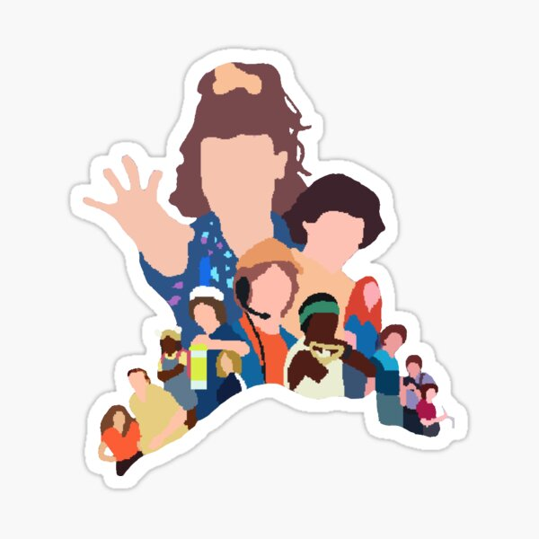 Stranger Things 3 Sticker Sticker