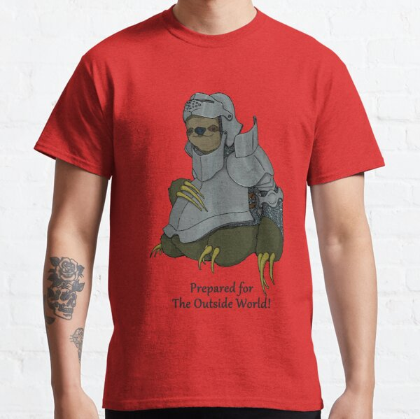 Sir Sloth drawing Classic T-Shirt