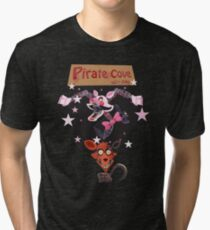We Love Foxy and Mangle Tri-blend T-Shirt