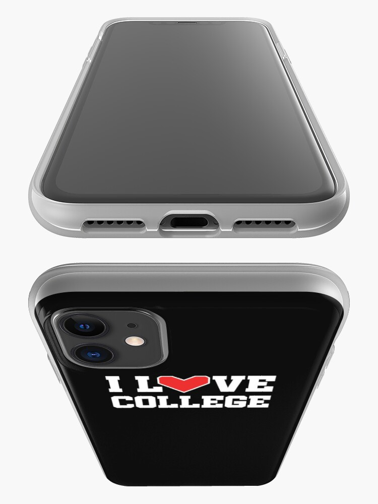 Alternate view of I Love College iPhone Case & Cover