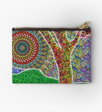 Tree of Love Mandala Zipper Pouch