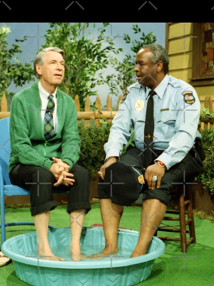 Mister Rogers & Officer Clemmons cooling their feet by CCfactory
