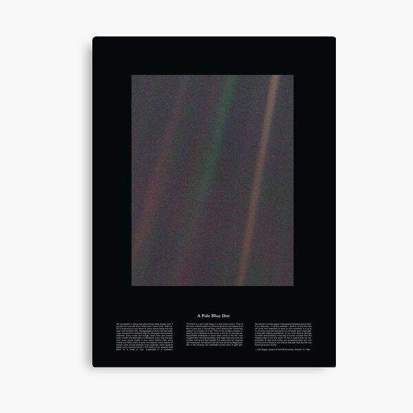 Copie de Pale Blue Dot Nasa x Carl Sagan Canvas Print