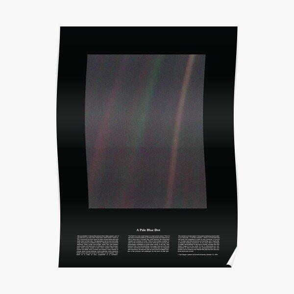 Copie de Pale Blue Dot Nasa x Carl Sagan Poster