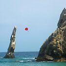 Lovers Beach, Cabo San Lucas, Mexico by Bernadette Claffey