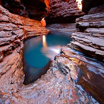 """Kermits Pool"" Karijini National Park, Western Australia by wildimagenation"