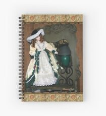 Antiques and Collectibles ~ Doll Spiral Notebook
