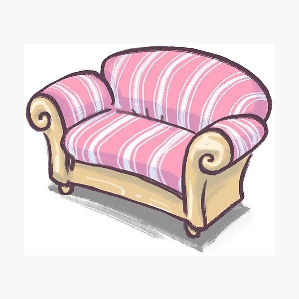 Sofa Fotodruck