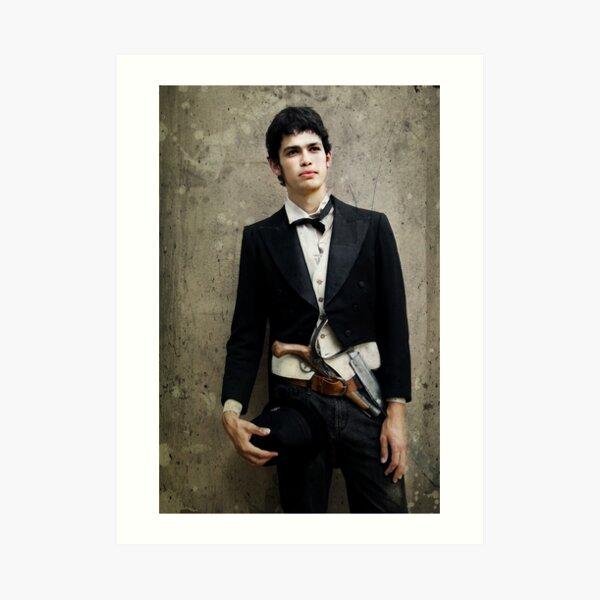 A Portrait of a Gentleman Art Print