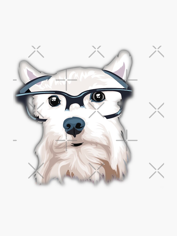 Hipster Dog by comewagalong