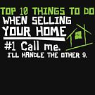 Selling your home realtor shirt by CreatedTees