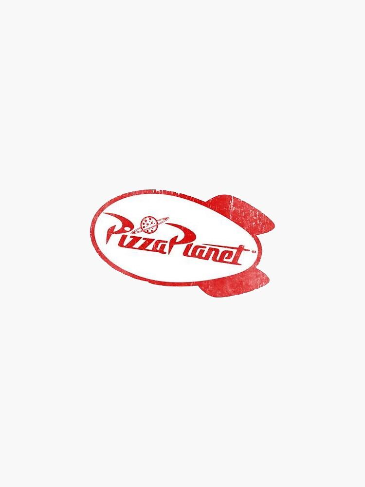 Pizza Planet by LexStickerShop