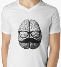 BRAINIAC Mens V-Neck T-Shirt