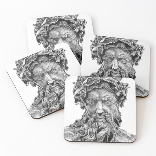 Zeus  Coasters (Set of 4)