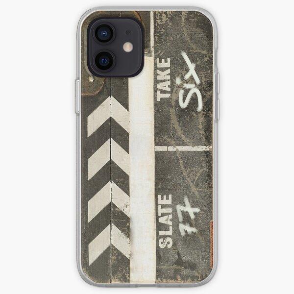 Clapper board 2 Coque souple iPhone