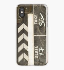 Clapper board 2 iPhone Case