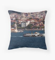 Kiz Kulesi - Maidens Tower Throw Pillow