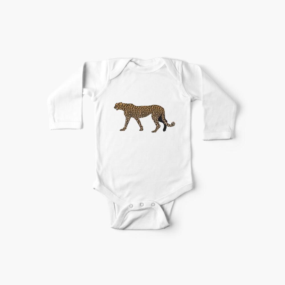 Estampado de leopardo Body para bebé
