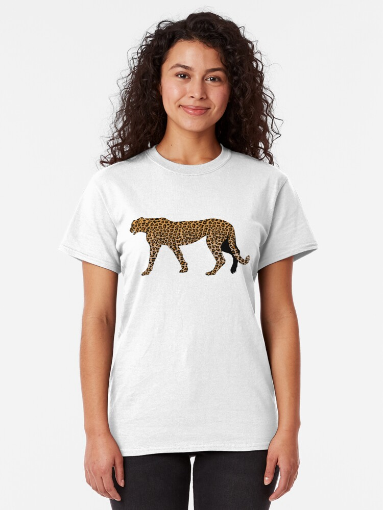 Alternate view of Leopard print Classic T-Shirt