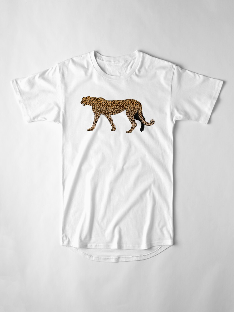 Alternate view of Leopard print Long T-Shirt