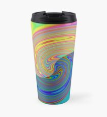 Vortex Dance Game with Two Halves of the World Travel Mug
