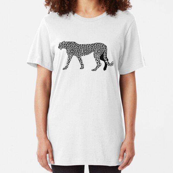 Seguridad Estampado de Leopardo Gato Gatito Cuello Crema Animal Print Nuevo con etiquetas