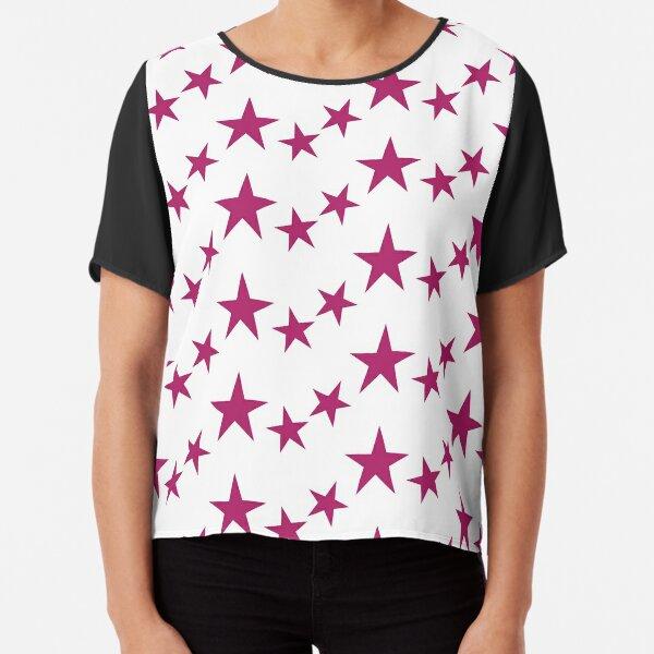 AID Stars Chiffon Top