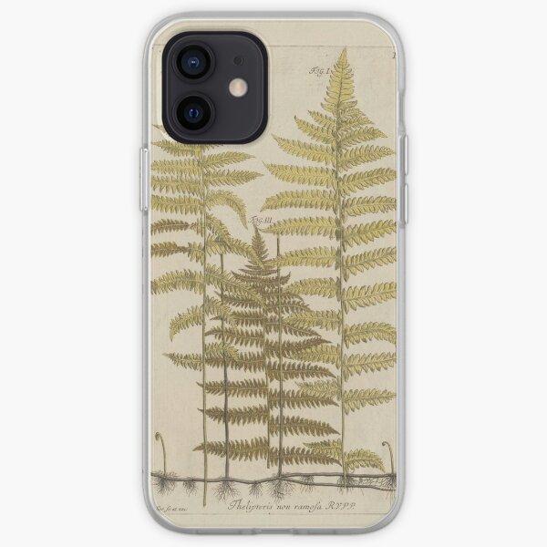 Vintage Fern Botanical iPhone Soft Case