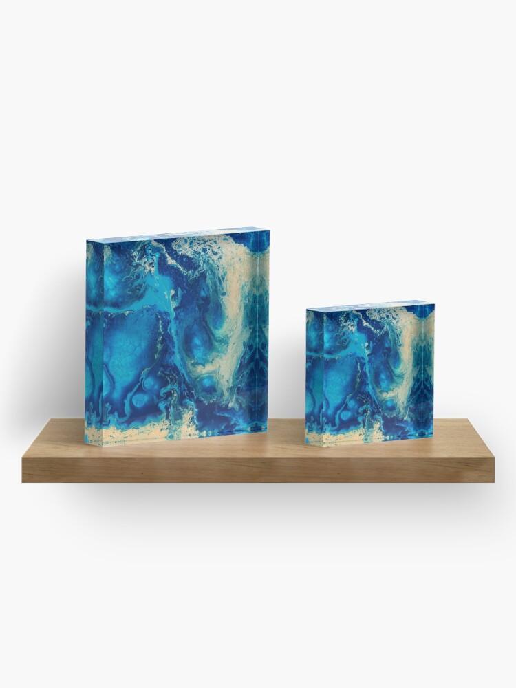 Alternate view of Juxtaposition Acrylic Block