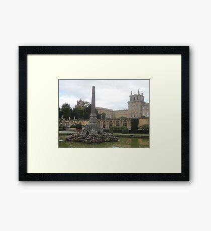 Blenheims Towers Framed Print