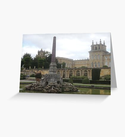 Blenheims Towers Greeting Card