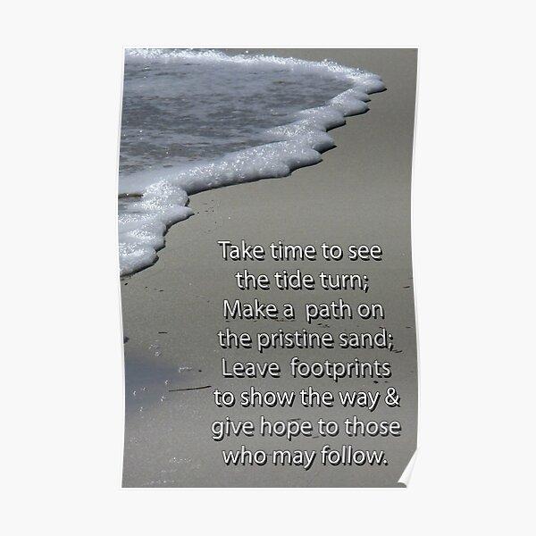 Take time inspiration Poster