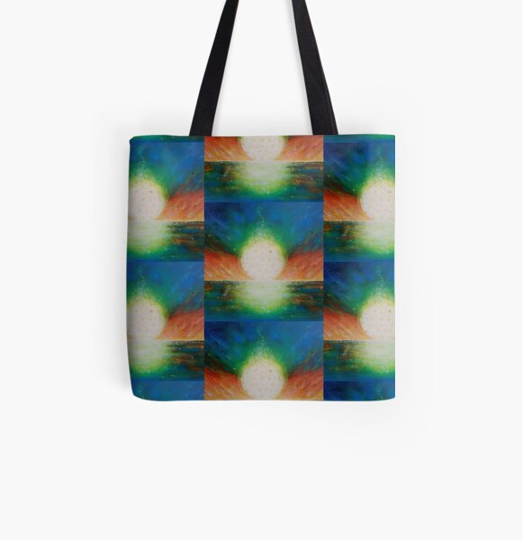 Sunset Fire All Over Print Tote Bag