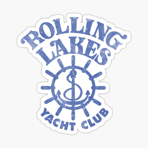 Rolling Lakes Yacht Club Sticker
