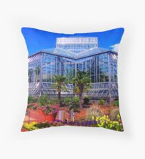 Conservatory Throw Pillow
