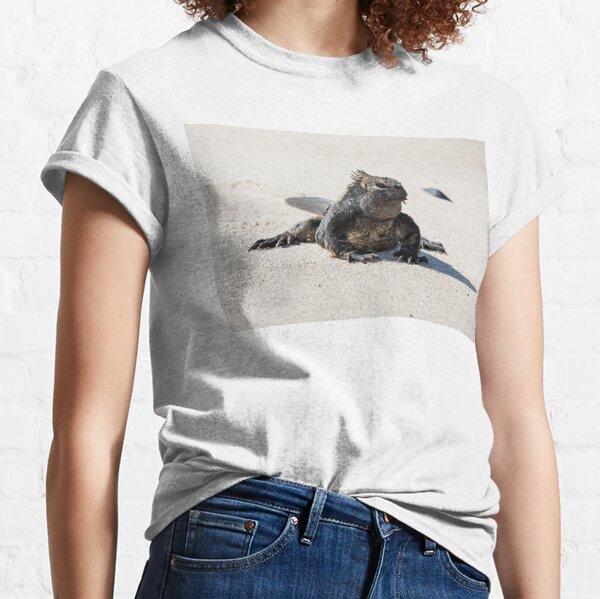 Marine iguana on San Cristobal, Galapagos Islands Classic T-Shirt