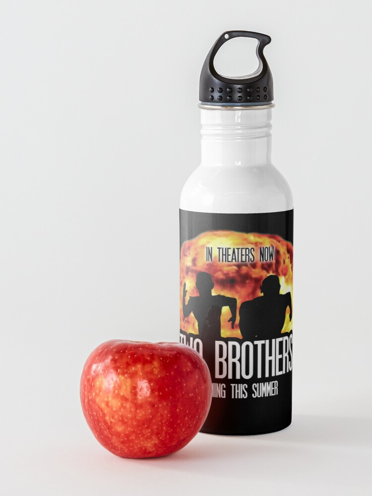 Alternate view of Two Brothers Live Action Movie Rick And Morty Water Bottle