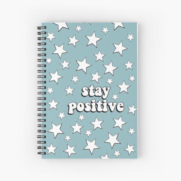 """vsco """"stay positive"""" Spiral Notebook"""