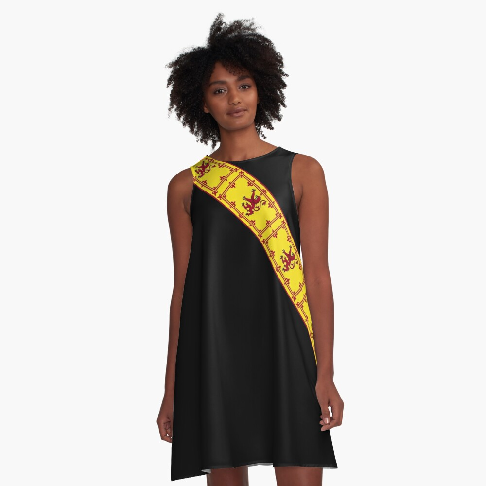 Flag of Scotland (Royal Standard) Products A-Line Dress