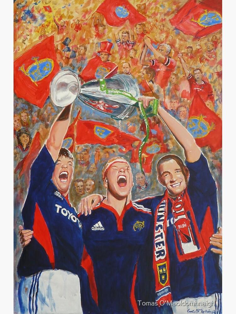 Munster Heiniken Cup Winners 2008 by tomasartist