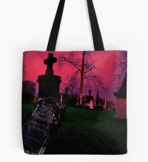 Cemetary in Ohio Tote Bag