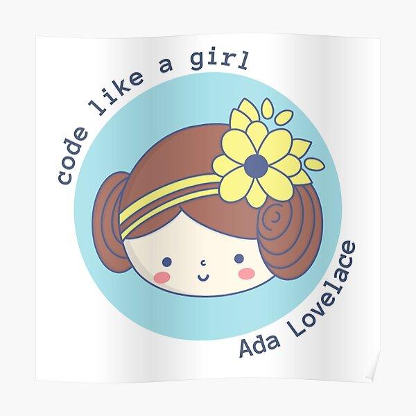 Programmer - Ada Lovelace Poster