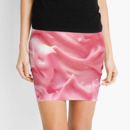 pink icing Mini Skirt