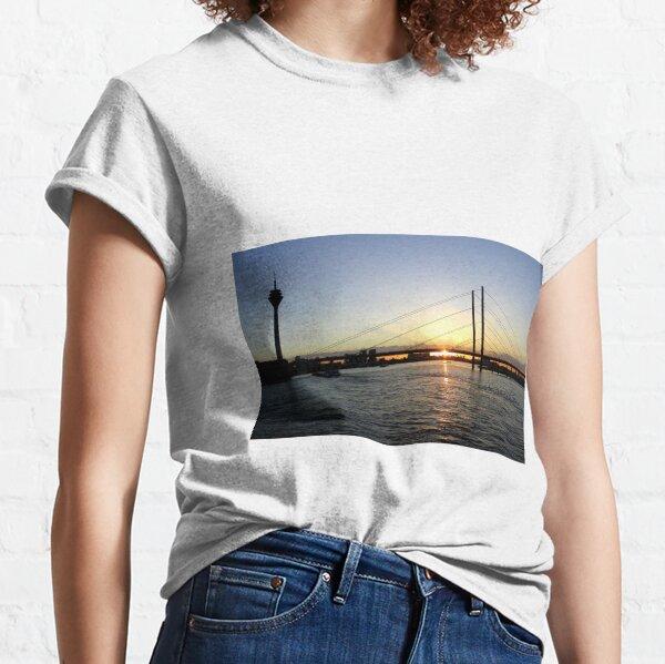 Henry Heine Allee, Dusseldorf Classic T-Shirt