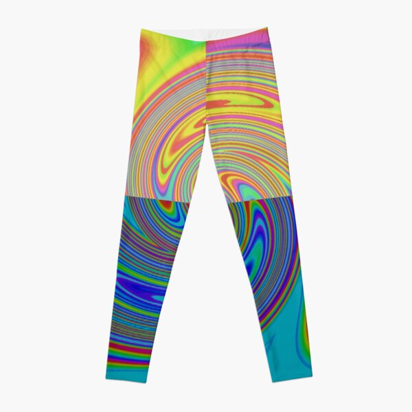 Vortex Dance Game with Two Halves of the World Leggings